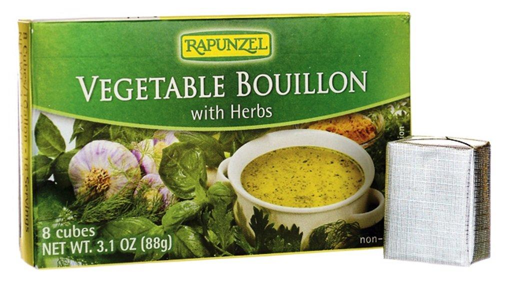 Bouillon Cube, Vegetable, Organic