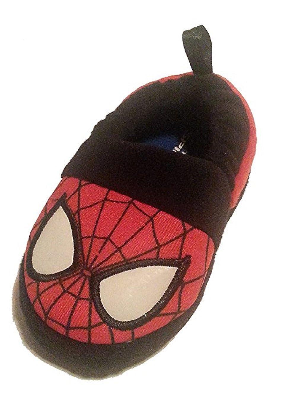 Marvel Spiderman Glow in The Dark Toddler Slippers