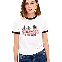Shirt Ringer tee Stranger Things Camiseta Mejores Amigas