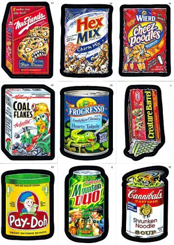 2006 Topps Wacky Packages Series 4 Complete Set of 55 Parody Stickers from Wacky Packages