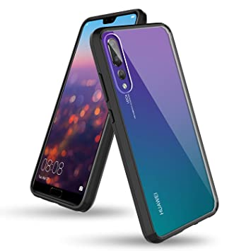 BENTOBEN Funda Huawei P20 Pro, Carcasa Huawei P20 Pro, Cover Case Ultra Delgada Transparente Cristal Protectora del Cuerpo Completo Resistente Durable ...