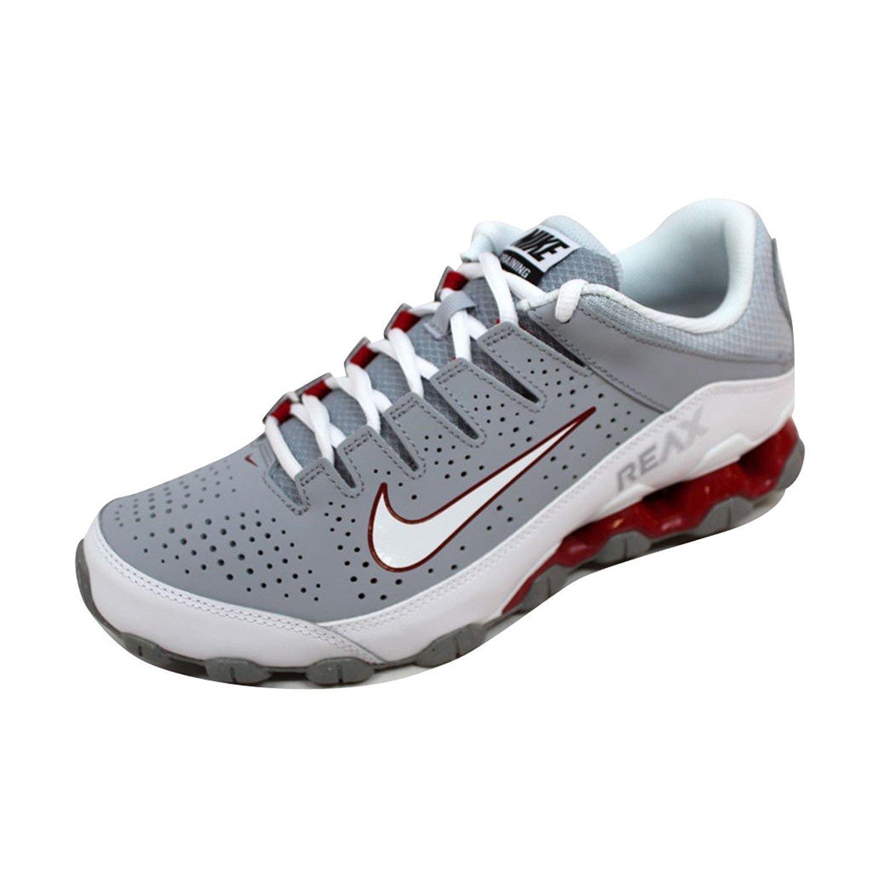 NIKE Men's Reax 8 TR Training Shoe B00KG00T2I 10.5 D(M) US|Wolf Grey/White-gym Red
