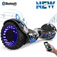 """Cool&Fun 6.5"""" Hoverboard Patinete Eléctrico Scooter Monopatín Eléctrico Auto-Equilibrio Patín from Shop GYROGEEK"""