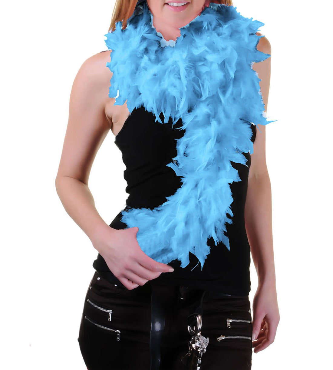 High Quality 150 cm Feather Boas Great for Hen and Stag Nights (Fuchsia) FNA Fashions FB010