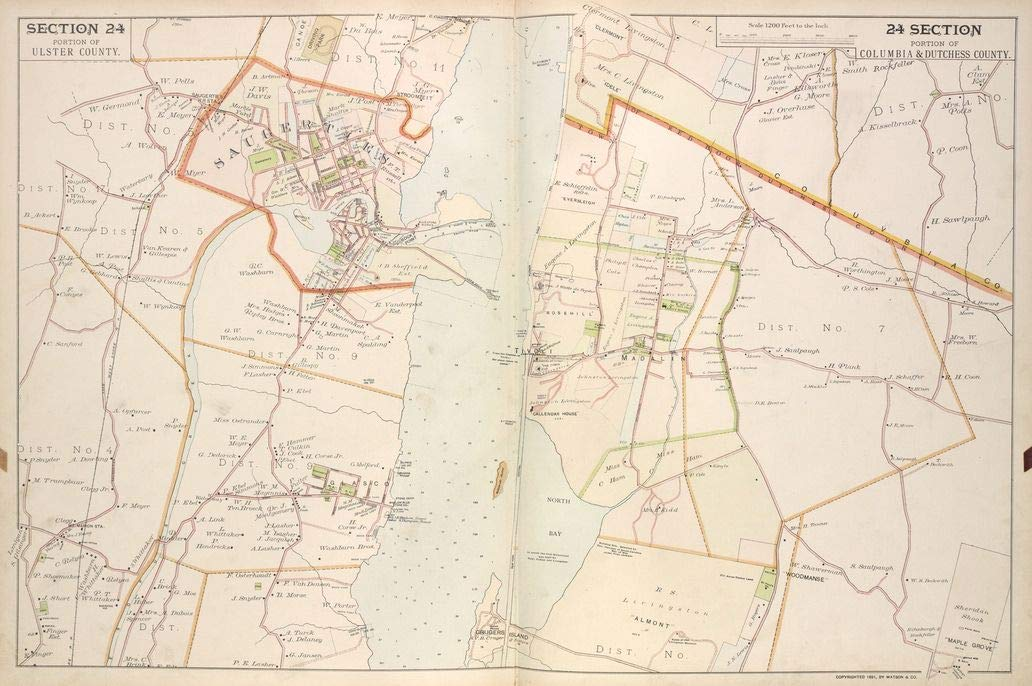 Reprinted 18 x 24 1891 Map of New York A New North America with the West India Islands divided according to the preliminary articles of peace, signed at Versailles, 20, Jan. 1783, wherein are 0 0 20a