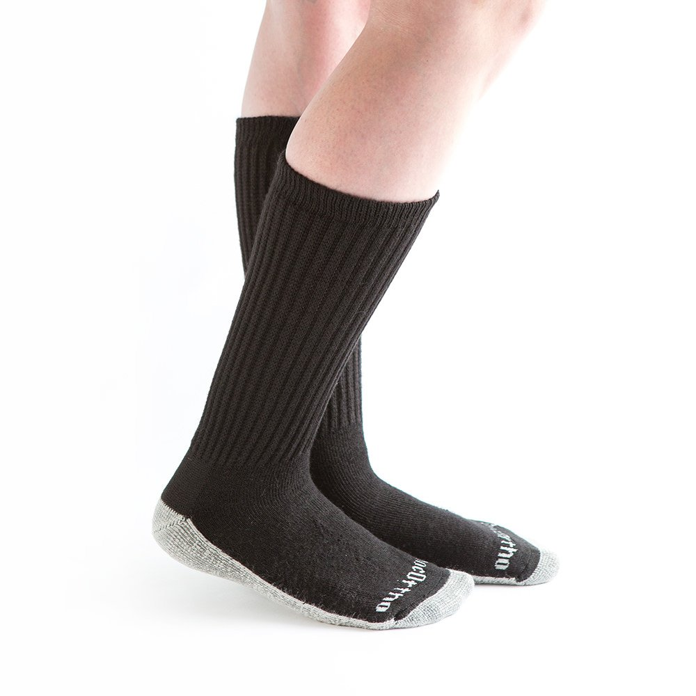 Doc Ortho Ultra Soft Silver Diabetic Socks, 8 Pairs, Crew by Doc Ortho