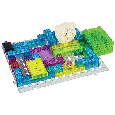 E-Blox Circuit Builder 395 Project Building Set - 66 Pieces: Toys & Games