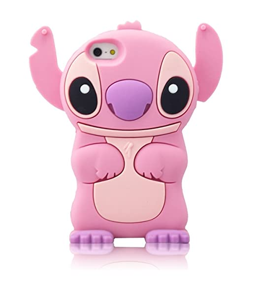 Cartoon Lilo And Stitch Soft Silicone Cover Case For Iphone 7 7