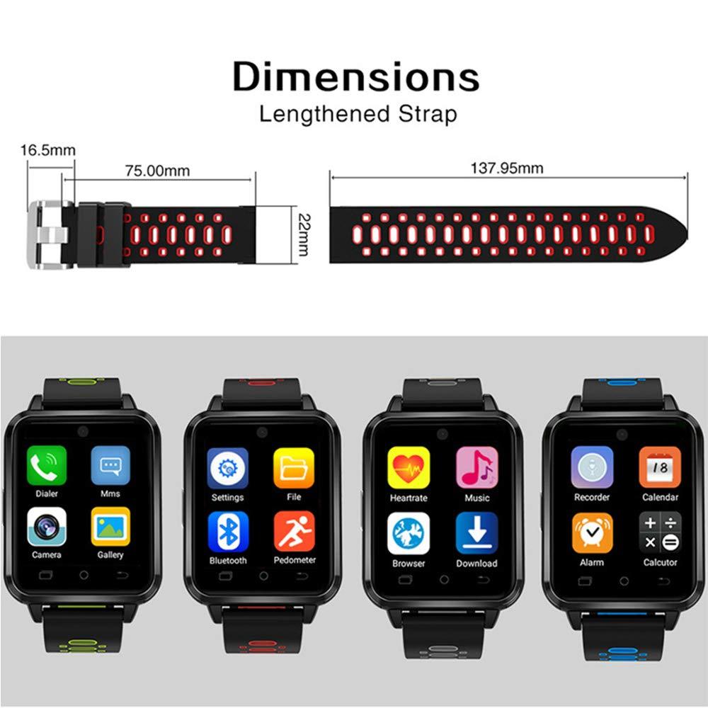 Amazon.com: Video Call Smart Watch 4G Full Netcom IP67 ...