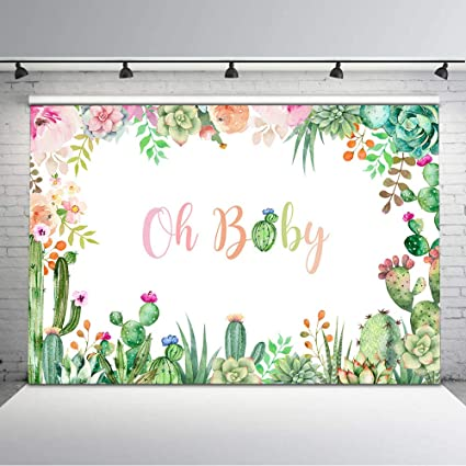 Amazon.com: Mocsicka Baby Shower - Fondo para fotos: Camera ...