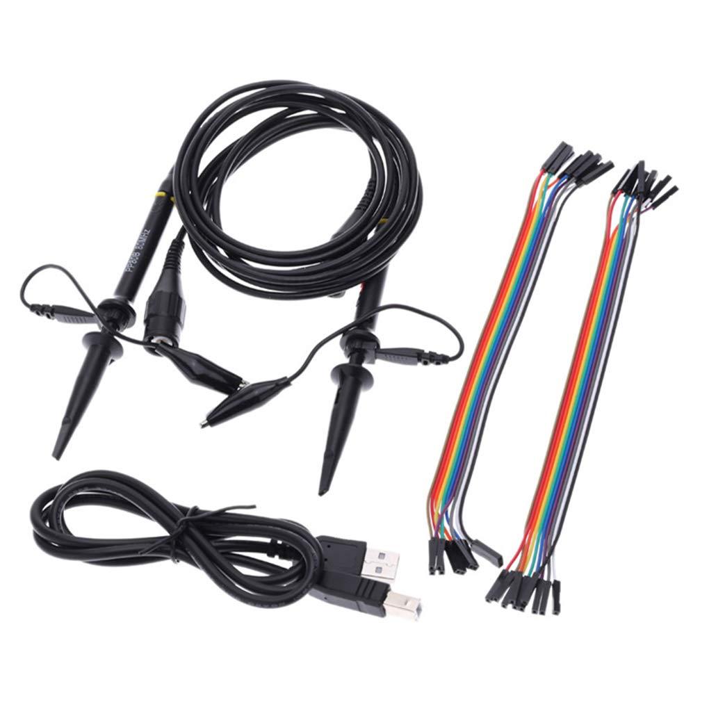 Ben-gi Hantek 6022BL PC-basierte USB-Oszilloskop 2 Digitale Kan/äle 48MSa s Abtastrate 16 Kan/äle Logic Analyzer