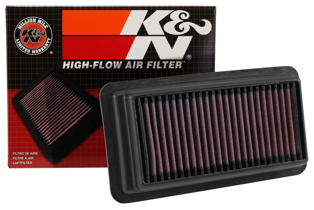 K&N Drop In Air Filter Fit For 2016 - 2017 Honda Civic 1.5L Turbo Sedan Coupe Sedan Replacement Filter 33-5044