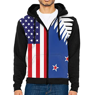 HEHE TAN Mens Pullover Hood Christmas Checkered Zip Hoodies Hooded Popular Jackets Coats
