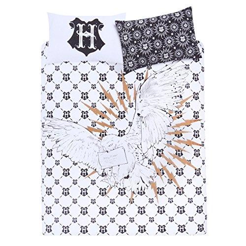 HARRY POTTER Duvet Double Bed Set Cover Sheets Pillowcases Reversible 200x200cm