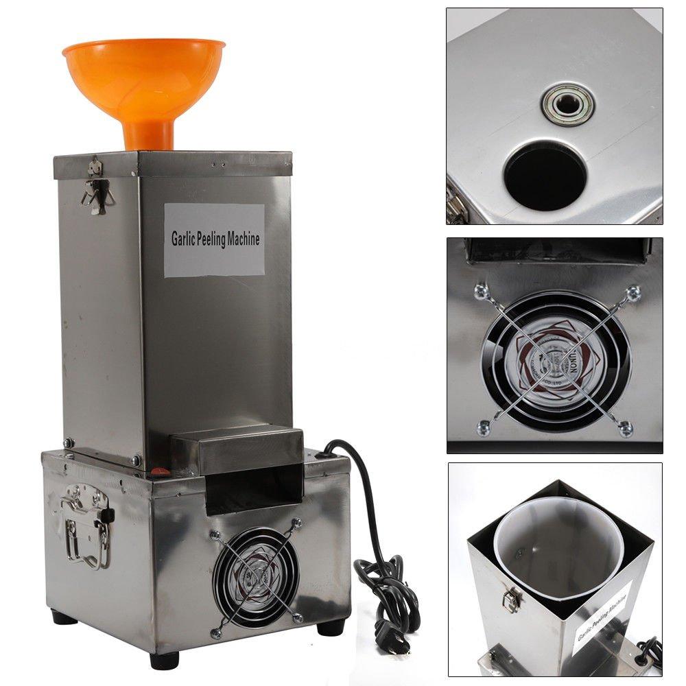 Garlic Peeling Machine Electric Garlic Peeler Household & Commercial 110V DINGYU