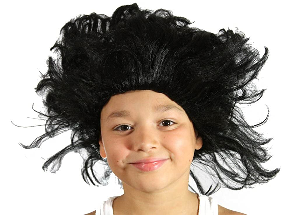 Amazon.com  My Costume Wigs Boy s Buckwheat Afro Wig (Black) One Size fits  all  Clothing 61204c0f0bee