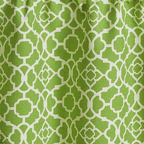 Waverly 12459050X016CTR Lovely Lattice 50-Inch by 16-Inch Window Valance, Citron