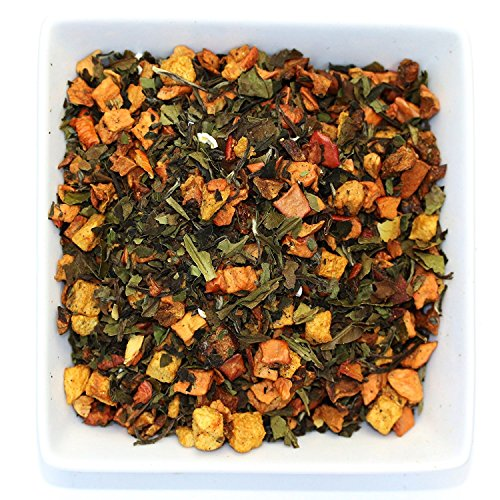 Tealyra - White Spicy Pear - Hibiscus - Cinnamon - White Loose Leaf Tea and Fruits Blend - Hot or Iced Tea - Antioxidants Rich - Caffeine Low - 100g (3.5-ounce) by Tealyra