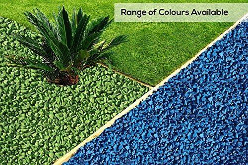 RockinColour - Piedras Decorativas para jardín, Color Azul Celeste: Amazon.es: Hogar