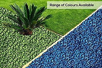 rockincolour piedras decorativas para jardn color azul celeste - Piedra Decorativa Jardin