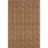HGTV Grandeur Good Karma Terra Cotta 6 X 9 Nylon Area Rug By Shaw Living