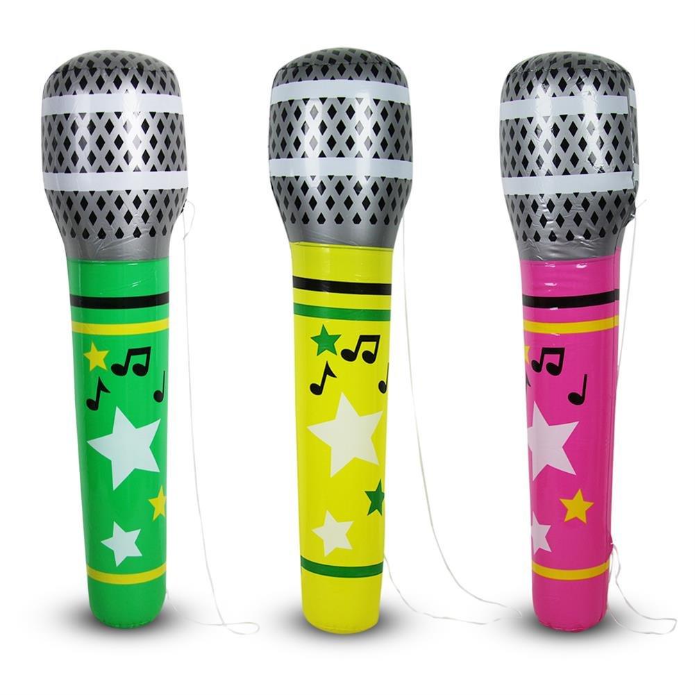 2 x hinchable Micrófono Micrófono Bandolera XL Natación ...