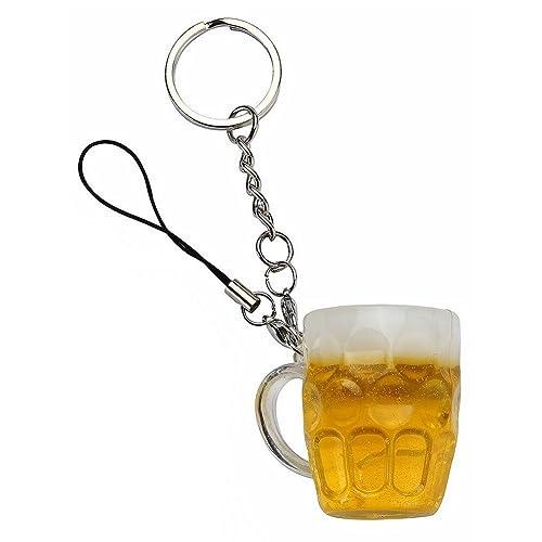 Joe Cool good head Llavero de vaso de pinta de cerveza ...