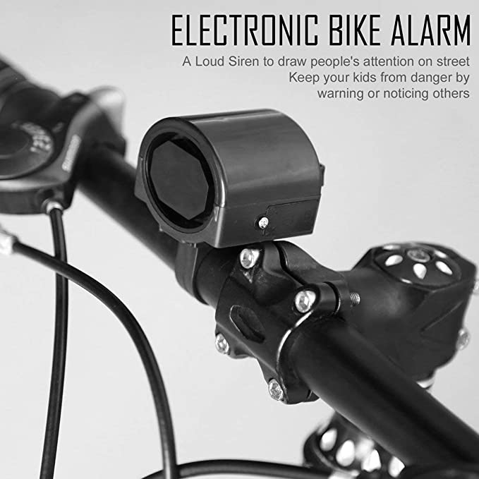 Kongqiabona Alarma electrónica para Bicicletas Mini Bocina ...