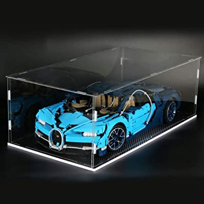 RAVPump Acrylic Display Case Display Box Showcase for Lego Bugatti Chiron 42083 (ONLY Display Box): Toys & Games