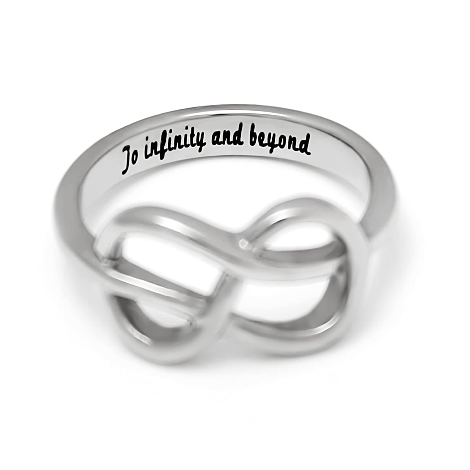 Amazon Infinity Ring For Girlfriend Or Boyfriend Promise Ring