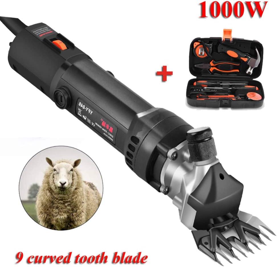Jjwwhh Esquiladora Máquinas de Eléctrica Esquilar para ovejas para Cortar Caballo, Máquina De Esquilar para Cabras, Alpaca Universal