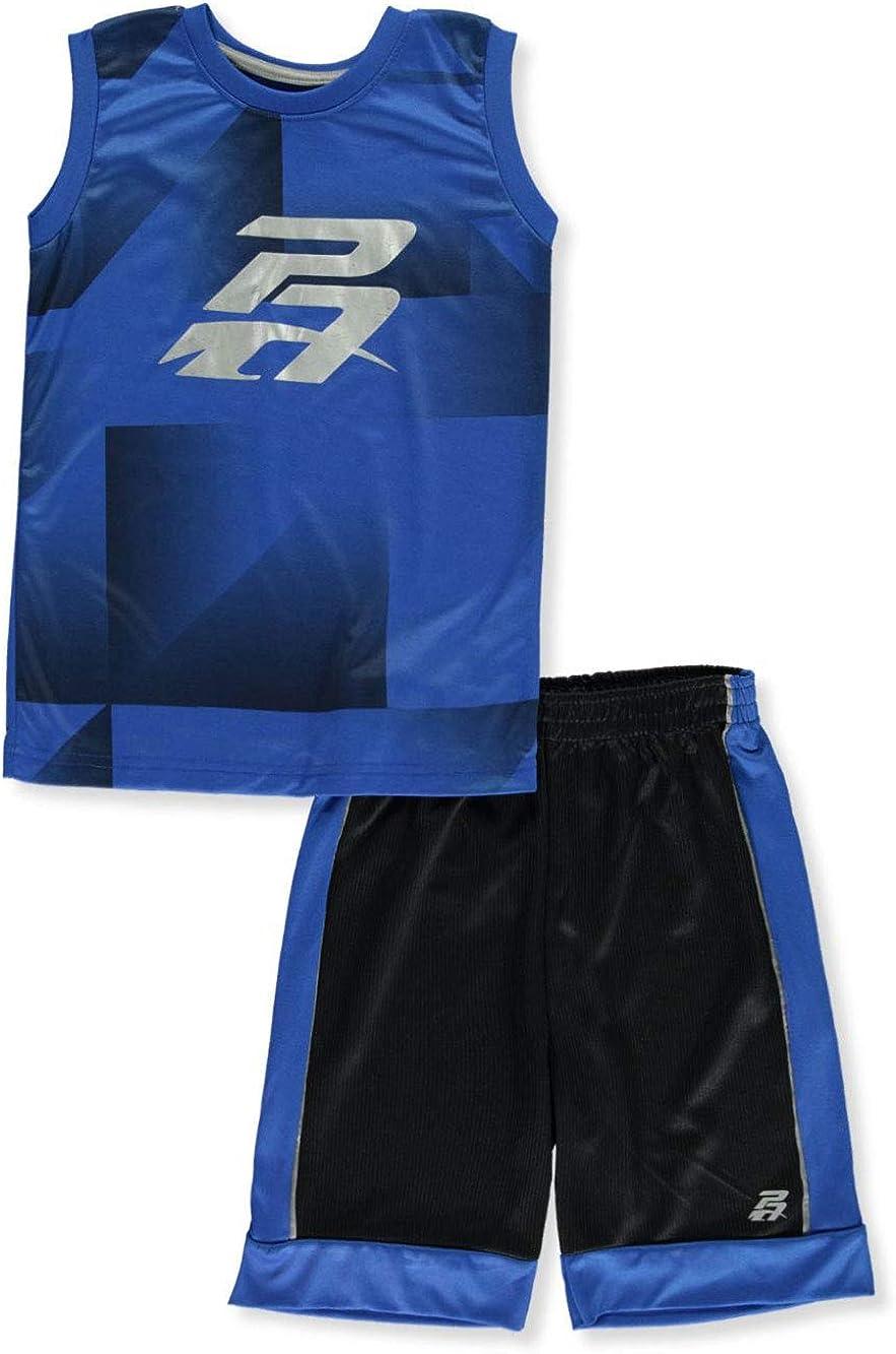 Pro Athlete Boys Reflect 2-Piece Shorts Set Outfit