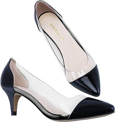 Black Patent Strappy Sandals Women Fancy Stiletto Heels Dress Shoes Size 8