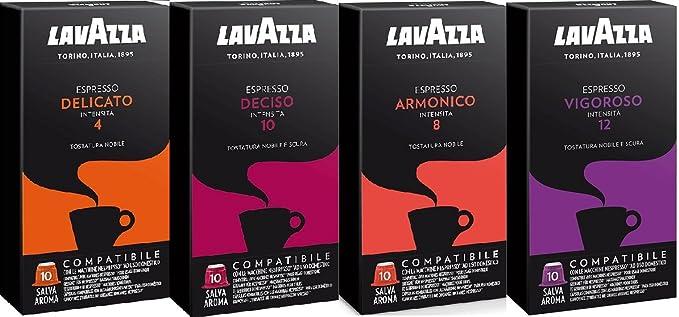 Degustación Cápsulas Lavazza Compatibles Nespresso® 40 unidades ...