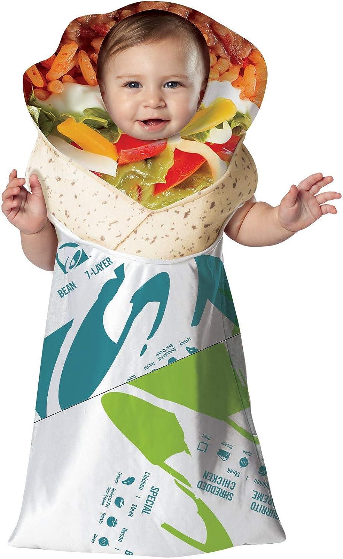 Taco Bell Infant 7 Layer Burrito Buntington Costume