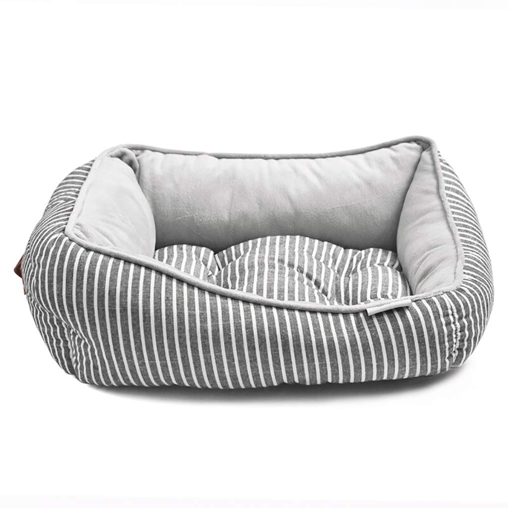 857020 Pet house kennel Cat nest Washable Small dog Medium dog Large dog Pet mat pet bed Available on both sides Four seasons available (Size   85  70  20)