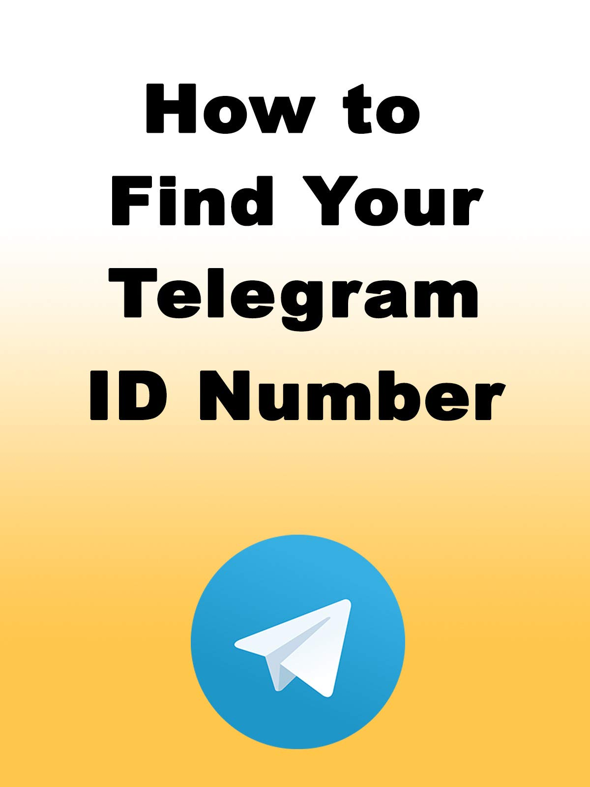Amazon co uk: Watch How to Find Your Telegram ID Number