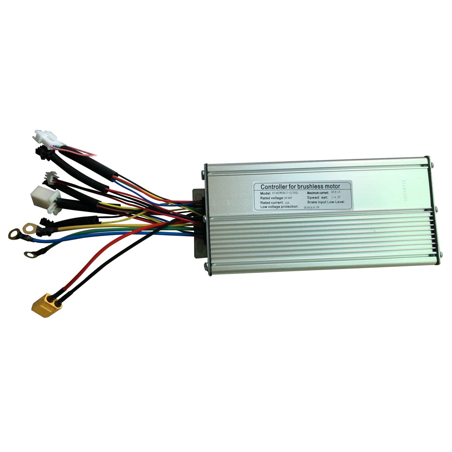 12 Mosfet Dual Mode LOLTRA EBike Controller Sine Wave Dual Mode KT Controller for 36V 48V Electric Bicycle DC Hub Motor and KT Display