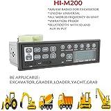 12v/24v Car Bluetooth Excavator Radio AUX-IN Slot Fm/am USB Mic Mp3 for Hitachi Komatsu Kato