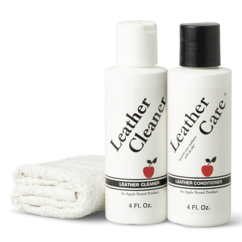 Apple Brand Leather Care Kit Cleaner & Conditioner