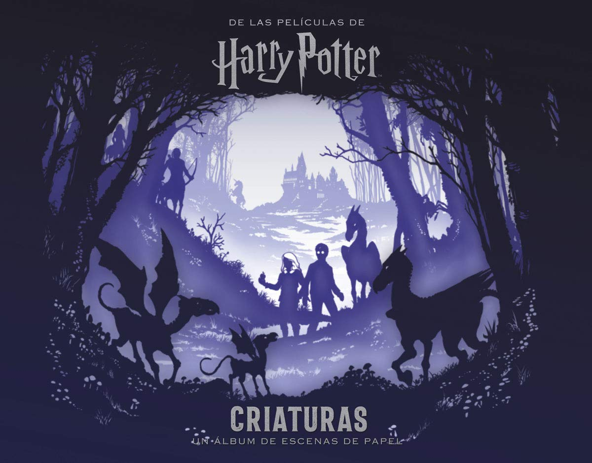 PELICULAS HARRY POTTER: CRIATURAS UN ALBUM DE ESCENAS DE PAPEL: Amazon.es:  Scott Buoncristiano: Libros