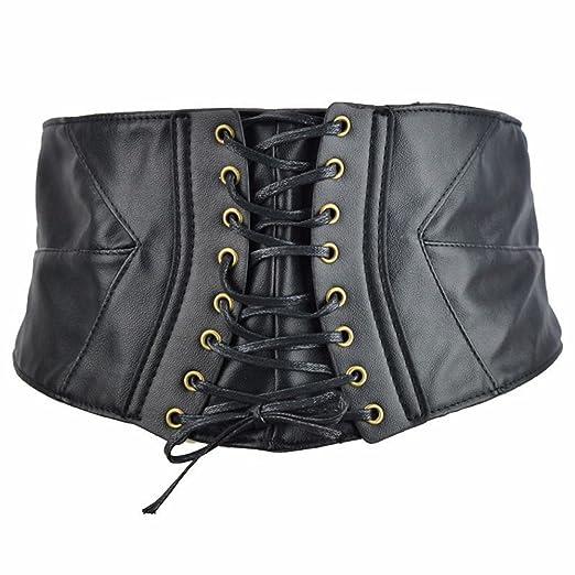 Cinturón reversible de cuero para mujer Correa decorativa europea ...