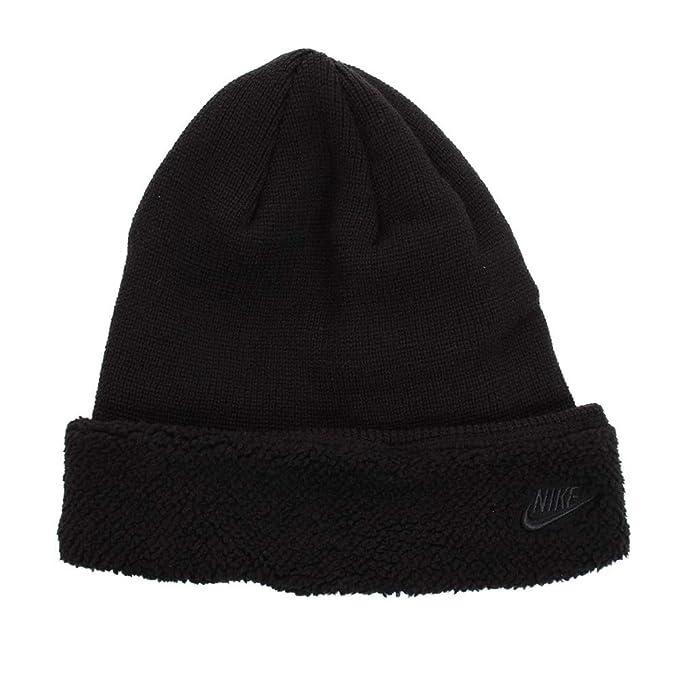 Nike Cappello Invernale Lana Pile Nero NSW Beanie Sherpa Unisex  Amazon.it   Abbigliamento 0c3835cc191a
