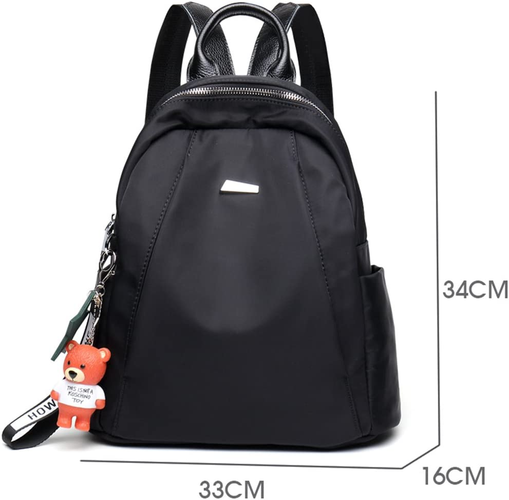 Size : Large CozyHome AAA Backpack Korean version of the large-capacity waterproof canvas bag mini backpack