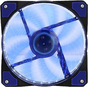 Pokerty Ventilador de refrigeración para PC, Luces LED ...