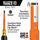 Insulated 1/4-Inch Cabinet Tip Screwdriver, 7-Inch