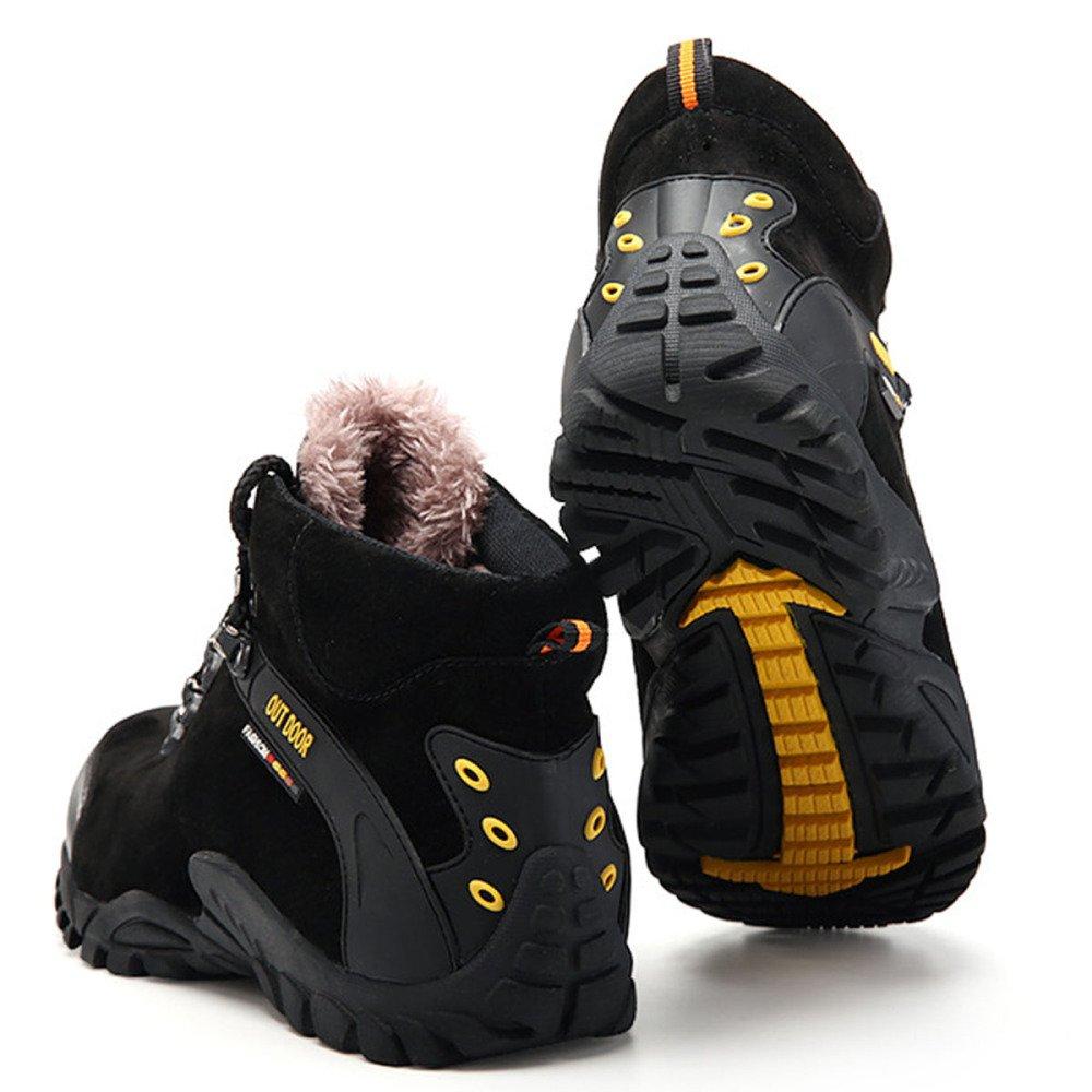 Nihiug Scarpe da Trekking da Donna Ad Ad Ad Alta Resistenza da Trekking Impermeabili Stivali da Arrampicata Autunno E Inverno più Scarpe Sportive da Esterno in Velluto bb1889