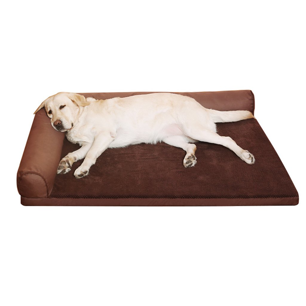 L type S L type S Pet bed can be washed large Oxford cloth waterproof sponge cave style optional ( color   L type , Size   S )