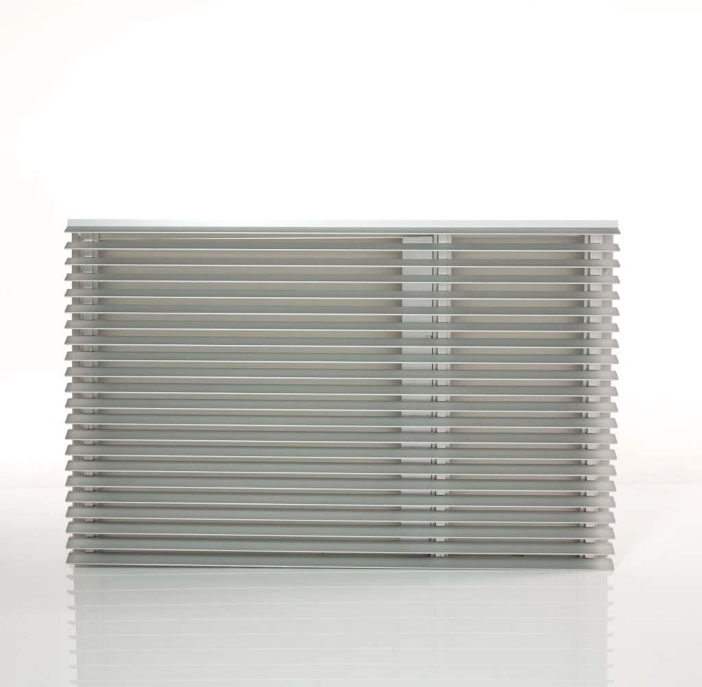 Friedrich AG extruded aluminum architectural grille for WallMaster series
