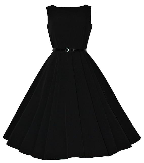Love Camden - Vestido - Campana - para mujer Negro negro